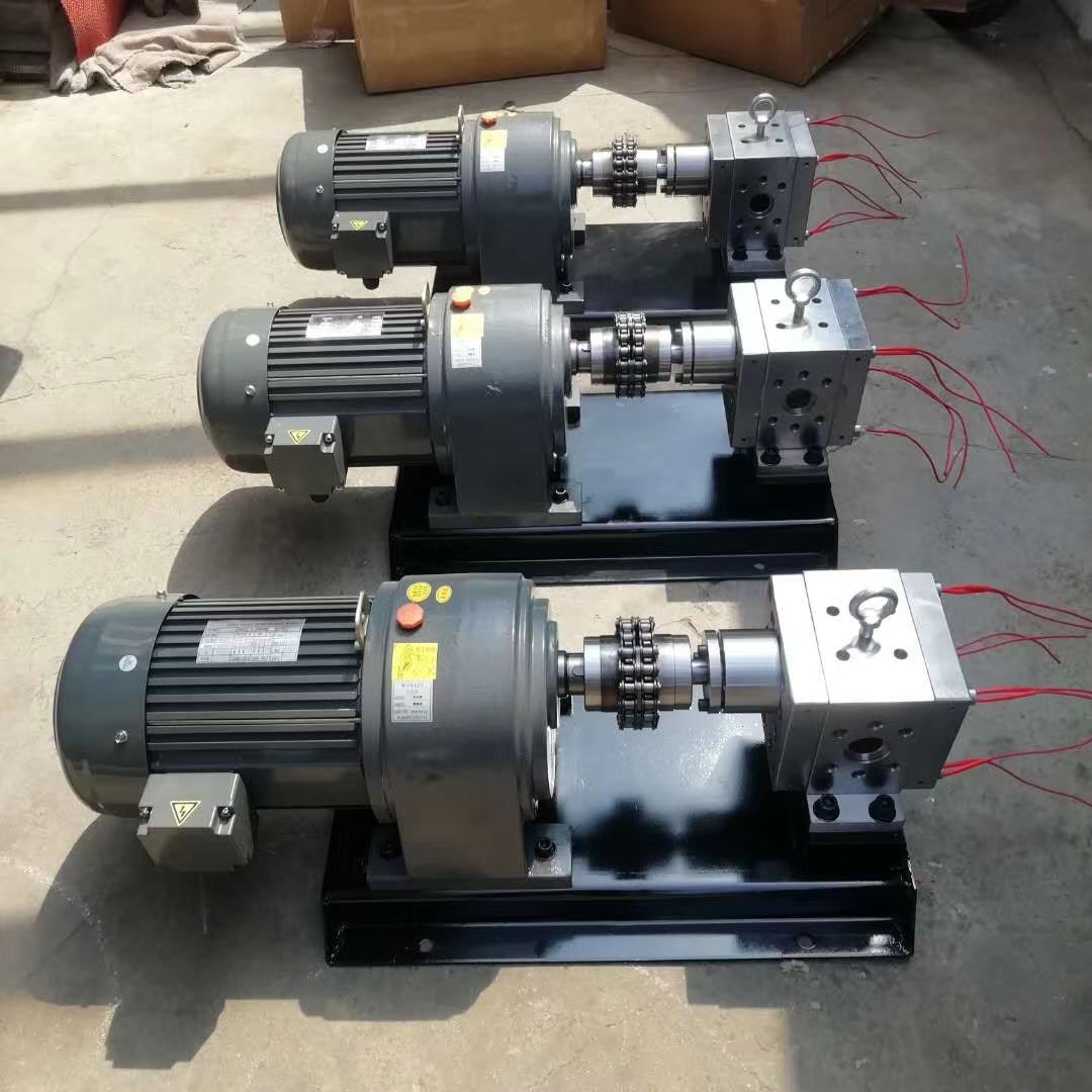 高温熔体泵(熔喷布熔胶计量泵) class=